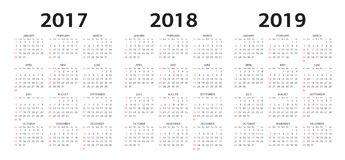 vector-i-modelli-del-calendario-75307359