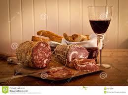 vino e salame